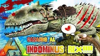 Download INDOMINUS REX EN ARK!! VAMOS A CAZARLO! Y UN DIPLODOCUS - ARK Survival Evolved Video