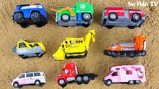 Download Learn Colors With Paw Patrol, Disney Cars Sand Puzzle For Children | Car Toy Kids Video