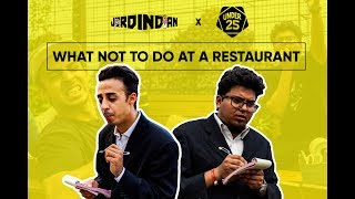 Download What Not To Do At A Restaurant | Jordindian | Under 25 Video