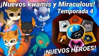 Download ¡INCREÍBLE! ¡NUEVOS MIRACULOUS, KWAMIS y HÉROES APARECERÁN en la TEMPORADA 4! | Miraculous Ladybug Video