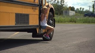 Download Watch 7-Year-Old Girl Get Dragged By Bus After Backpack Gets Stuck in Door Video