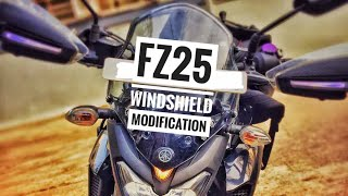 Download FZ25 Windshield modification| JUGAAD for all naked bikes Video