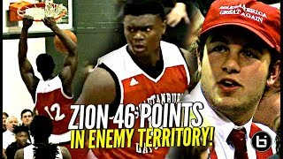 Download Zion Williamson 46 POINTS vs Jalen Lecque in SEASON OPENER!! Makes NC Hoops HISTORY!! Video