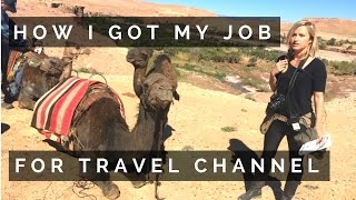 Download HOW I GOT MY DREAM JOB FOR TRAVEL CHANNEL | LA & WHAT'S NEXT | Ep 54 Video
