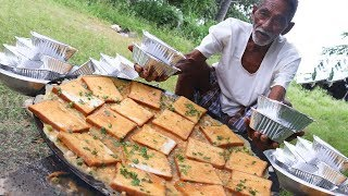 Download Bread Omelette Recipe | 100 Bread Omelette Cooking by our grandpa for Orphan kids Video