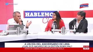 Download A un día del aniversario de Lima, ¿Cuál es el balance de la gestión municipal? Video
