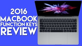 Download 2016 MacBook Pro (Function Keys) Review Video