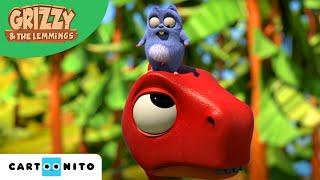Download Grizzy und die Lemminge | T-Rex Action | Boomerang Video
