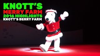 Download Knott's Merry Farm highlights during 2016 Christmas season at Knott's Berry Farm Video