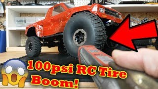 Download RC Car Inflatable Tire VS 100 psi ....... Video