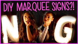 Download Niki And Gabi DIY Marquee Lights?! | DIY or DI-Don't w/ Niki and Gabi Video
