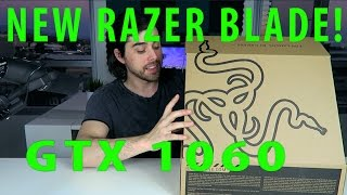 Download New Razer Blade - GTX 1060 - Unboxing & Overview Video