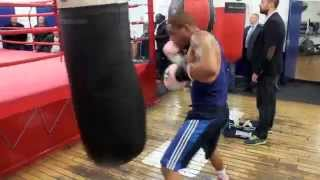 Download AHMET PATERSON HEAVY BAG WORKOUT @ PEACOCK GYM / iFL TV Video