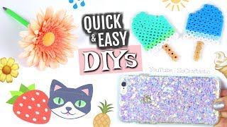Download 5 MINUTE CRAFTS TO DO WHEN YOU'RE BORED! Quick & Easy DIYs - SoCraftastic Video