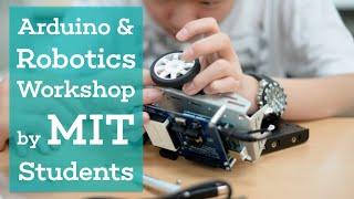 Download Arduino & Robotics Workshop by MIT Students Video