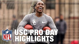 Download Adoree Jackson & JuJu Smith-Schuster USC Pro Day Highlights | NFL Video