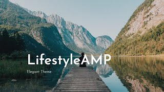 Download LifestyleAMP   HTML Web Page Template - Mobirise Video
