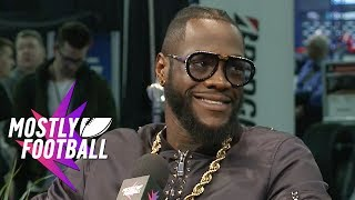 Download Heavyweight Champ Deontay Wilder Talks Rematch And How To Get That Knockout | Mostly Football Video