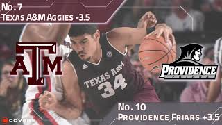 Download March Madness Betting Breakdown: No. 7 Texas A&M vs. No. 10 Providence Video