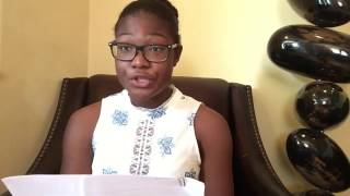 Download Letters About Literature 2017 Level 2 Winner: Cynthia N. Onyiorah Video