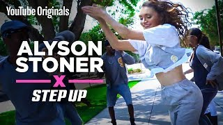 Download Alyson Stoner | Finding her step stroll groove | Step Up: High Water Video
