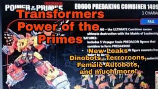Download Power of the Primes leaks! PREDAKING, DINOBOTS, TERRORCONS! Video