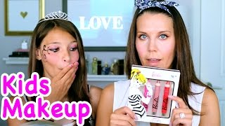 Download FULL FACE USING ONLY KIDS MAKEUP CHALLENGE | Tati Video