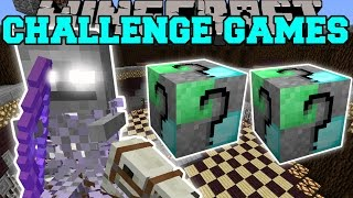 Download Minecraft: GHOSTLY HORSEMAN CHALLENGE GAMES - Lucky Block Mod - Modded Mini-Game Video