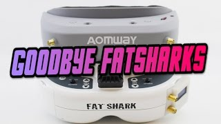 Download Aomway VS Fatshark | OMG NEW BEST FPV GOGGLE? Aomway commander goggle fpv review Video