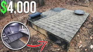Download $4000 Homemade Underground Fort Bunker Video
