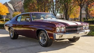 Download 1970 Chevrolet Chevelle SS 454 LS5 For Sale Video