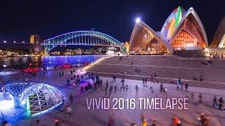 Download Vivid Sydney 2016 4K Timelapse film Video
