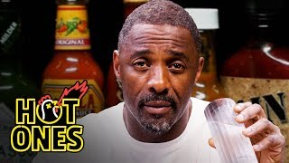 Download Idris Elba Wants to Fight While Eating Spicy Wings | Hot Ones Video