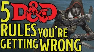 Download Top 5 Dungeons and Dragons 5e Rules Everyone Gets Wrong Video