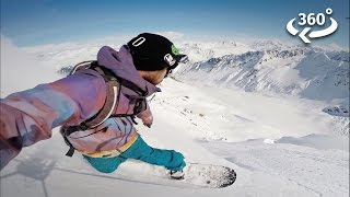 Download Experience Living Off-Grid with Snowboarder Mike Basich Video