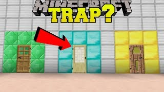 Download Minecraft: WHICH DOOR IS A TRAP?!? - CRACK THE FAKES - Custom Map [1] Video