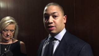 Download Tyronn Lue apologizes to ABC for sitting Cavaliers Big 3 Video