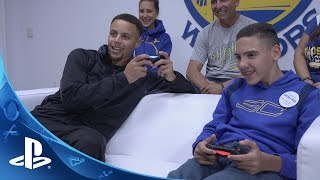 Download PlayStation HEROES: Stephen Curry makes a wish come true for Shawn Rocha Video