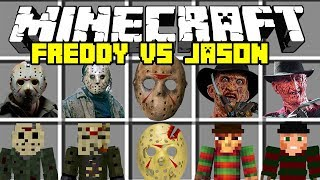 Download Minecraft FREDDY VS JASON MOD | FRIDAY THE 13TH AND FREDDY KRUEGER! | Modded Mini-Game Video