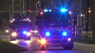 Download Grote inzet hulpdiensten voor zeer grote brand bij Restaurant Etenstijd in Tilburg - 05-04-2017 Video