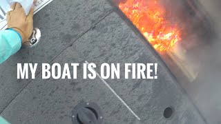 Download MY BOAT'S ON FIRE!! Video