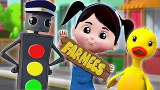 Download Mr Traffic Signal | Preschool Learning Songs For Children & Cartoon Video Video