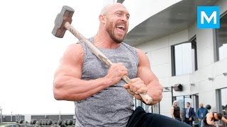 Download Ryback Training for Wrestling (WWE) | Muscle Madness Video