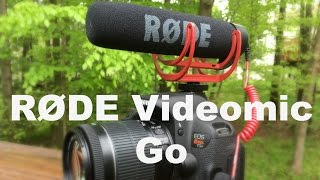 Download RODE VideoMic Go: Review and Test Video