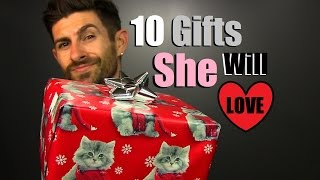 Download 10 Affordable Gift Ideas SHE Will LOVE Under $30 | Inexpensive Gifts For Women Video