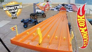 Download Hot Wheels Pista 6 Lane Raceway Monster Jam - Carrinhos de Brinquedos #56 Video
