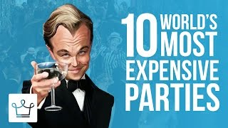 Download 10 Most Expensive Parties Ever Thrown Video