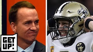 Download Does Drew Brees breaking Peyton Manning's record put him among QB G.O.A.T's? | Get Up! Video