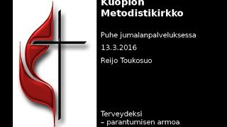 Download Reijo Toukosuo: Terveydeksi – parantumisen armoa Video