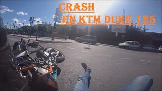 Download Motocycle Crash / Accident Moto En Ktm Duke 125 Video